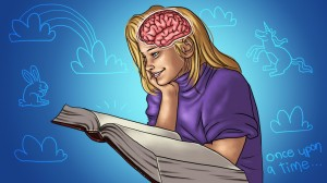 Activate your brain. Tell a story